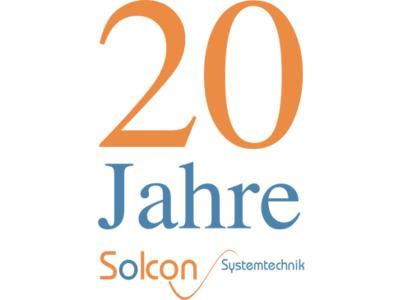 20 Jahre Solcon Systemtechnik Jubiläums-Logo