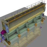Modell der Schleuse Nürnberg, Neues Oberhaupttor, Main-Donau-Kanal (Bildquelle: DSD NOELL)
