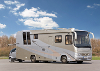 Motorhome VARIO Perfect 950 SH on MB Atego. Interated luxury coach for high performance.