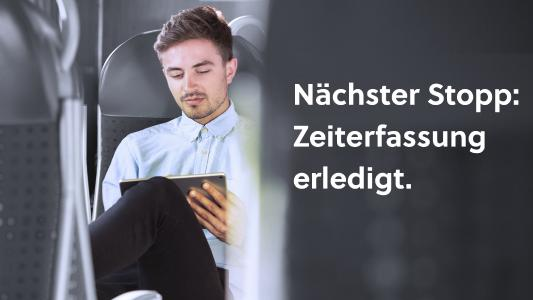 Mobile Zeiterfassung mit PROJEKT PRO