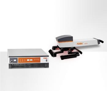 Beschriftungslaser FOBA Y.0021 mit integriertem Kamerasystem |  Marking laser FOBA Y.0021 with integrated vision system