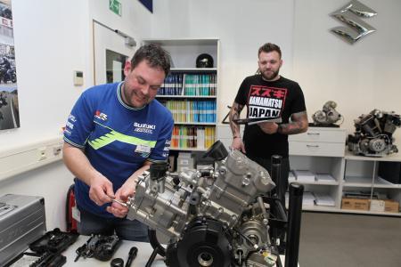 Suzuki Mechaniker Wettbewerb 2017