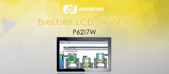P6217W – Großer Multi-Touch-Monitor für den Einsatz im Industrieumfeld