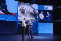 Mission America's Cup defence: BMW Motorsport designed steering wheel for ORACLE TEAM USA racing yacht presented at Detroit Auto Show