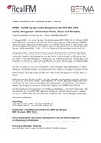 [PDF]Pressemitteilung: GEFMA / RealFM: Tag des Facility Managements der EXPO REAL 2008