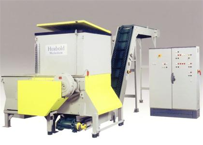 Fig.2:  Herbold Single-shaft and Two-shaft Shredder