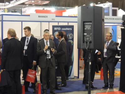 pureSpekt Post-Expo Messe Stand