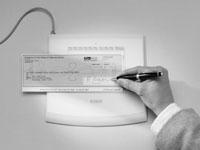 Unterschriftenerfassung auf Schreibtablett mit Druckstufendifferenzierung