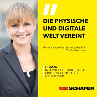 Melanie Neumüller, Team Leader SAP Quality Assurance bei SSI Schäfer