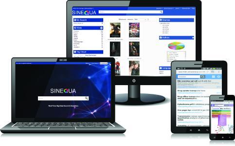 Die Sinequa-Software analysiert Inhalte und Nutzerverhalten mittels maschinellen Lernens. Abb. Sinequa