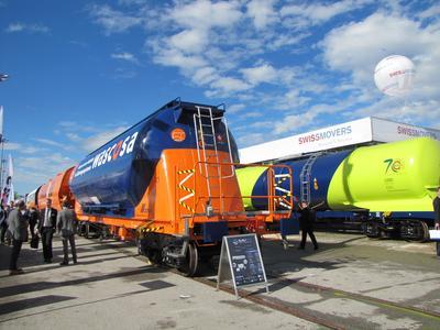 WASCOSA (http://www.wascosa.ch), als Europas erster Anbieter von Güterwagensystemen und eines der innovativsten Unternehmen der Branche testet bereits heute Lösungen von SAVVY® Telematic Systems AG (www.savvy-telematics.com).
