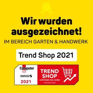 Trend Shop 2021 – Humbaur Shop ausgezeichnet