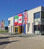 Das Gebäude bietet Platz für rund 25 Mitarbeiter und ist nach dem aktuellen Stand der Technik gebaut