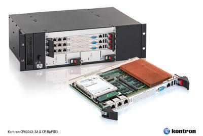 Kontron 6U CompactPCI® processor board and chassis innovation provide an industry first with 10 GbE system throughput