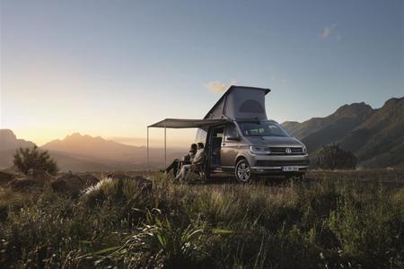 Österreich-Premiere des neuen California und des Caddy Beach am Caravan Salon Austria (Bildquelle Porsche Austria)