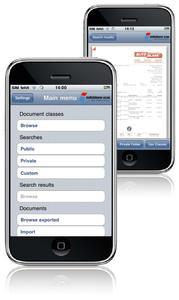 InfoStore iPhone