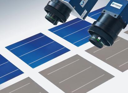 Ob Standardsystem oder individuelle Lösung:VITRONIC liefert kamerabasierte Qualitätsprüfung von Solarzellen, Wafern und Modulen