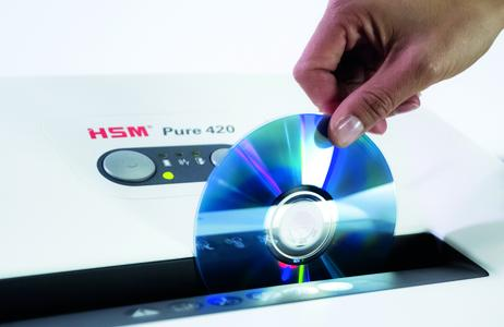 Document shredder HSM Pure 420