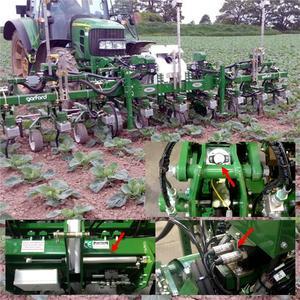 Sensorik für Unkrautbekämpfung im ökologischen Landbau