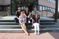 Allein in der Weinheimer Zentrale von trans-o-flex haben fünf junge Frauen und Männer im August eine Ausbildung begonnen