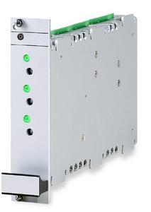 EPLAX Trivolt GK 40: compact DC/DC converter in 4 HP design