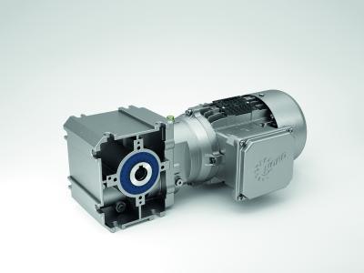 Mit dem neuen SK 02040.1 hat NORD DRIVESYSTEMS ein leistungsstarkes, leichtes und flexibles Stirnrad-Schneckengetriebe für zahlreiche Anwendungen im Produktportfolio
