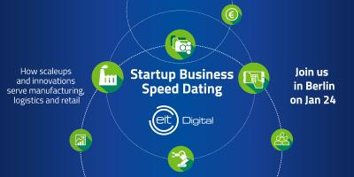 Startup Business Speed Dating von EIT Digital am 24. Januar 2017 in Berlin.