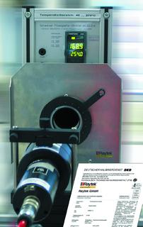 RAYTEK DKD-Kalibrierlabor für Strahlungspyrometer