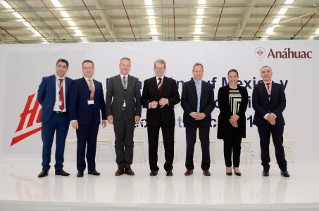 F.l.: José Santos, Johann Palluch, Dr. Florian Hesse, Ulrich Hülsbeck, Thomas Tomakidi, Claudia Núñez und Carlos Marques.
