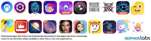 SophosLabs entlarvt über 30 Fleeceware-Apps für iPhones
