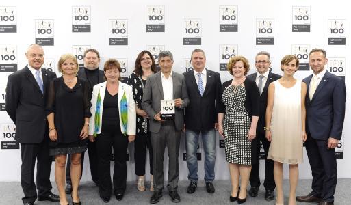 """Huber Kältemaschinenbau als """"Innovator des Jahres"""" ausgezeichnet"""