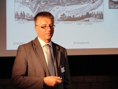 Urs Löhnert, Comvation AG - Partner Manager und Organisator Partnertag 2012