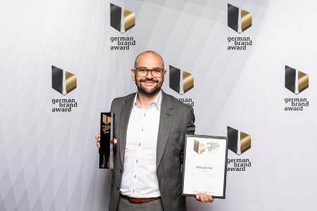 """Richard Wolf erhält Auszeichnungen als """"Digital Brand of the Year"""" beim German Brand Award 2019"""