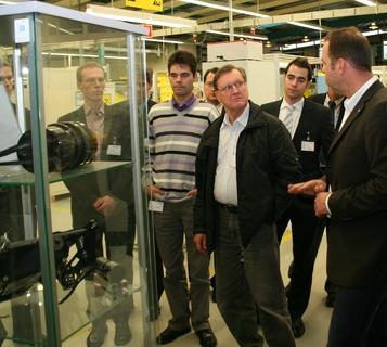 Produktionsbesichtigung bei der WITTENSTEIN AG im Rahmen der ROADSHOW