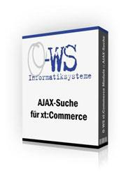 Softwarebox AJAX-Suche für xt:Commerce