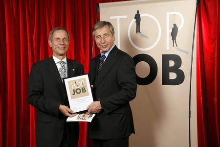 Top Job Auszeichnung Horvath