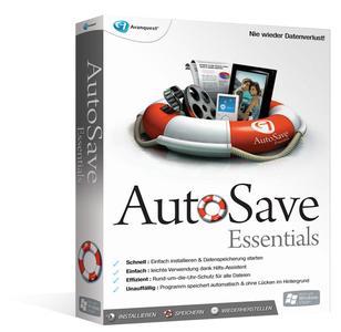 BOXSHOT Boxshot 3 D links_Avanquest AutoSave Essentials_low res