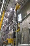 Heute gehört das Dematic RapidStore Regalbediengeräte der aktuellen Baureihe zum Branchenstandard. (Foto: Dematic)