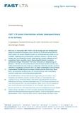 [PDF] Pressemitteilung: FAST LTA bietet Unternehmen sichere Datenspeicherung in der Schweiz