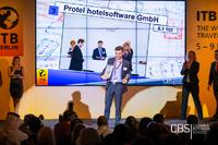 Felix Heidenreich, Sales Area Manager at protel hotelsoftware, accepts the