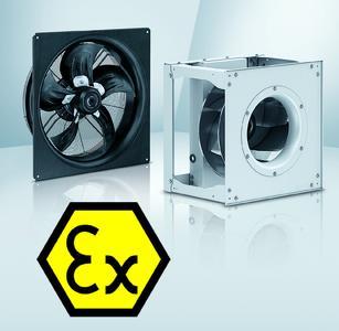 Ventilatoren in explosionsgefährdeten Bereichen können nun auch von den Vorteilen der EC-Technologie profitieren.
