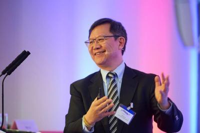 """Keynote Willy Lin, Member of the Hong Kong Logistics Development Council, Managing Director of Milo's Knitwear (International) Ltd and Milo's Manufacturing Co Ltd, zum Thema """"Was ist die neue Seidenstraße? Wie ändert sie die globalen Supply Chains?"""""""
