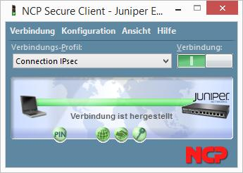 Ncp vpn client konfigurieren