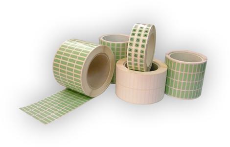 Grüne Polyimid-Etiketten