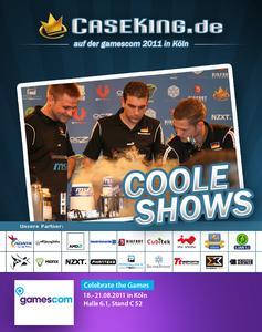 Caseking auf der gamescom 2011   Coole Shows