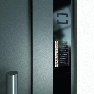 Schüco Touch Display – Klingelliste