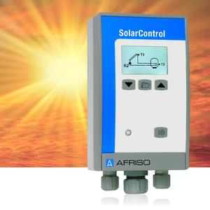 The AFRISO SolarControl solar controller can be used to control and monitor thermal solar systems. It is also ideal for retrofitting of existing systems