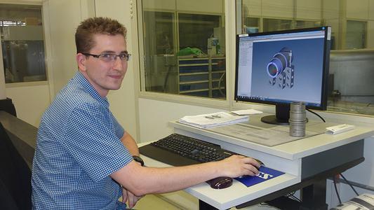 Peter Haaf, Messtechniker der LEWA GmbH