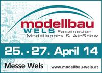 Modellbau Wels: 25. - 27. April