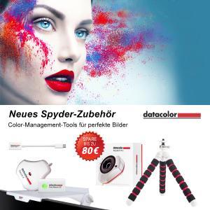 Neues Fotozubehör in der Datacolor Spyder-Produktlinie verfügbar